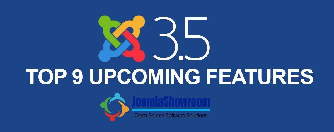 Top 9 Upcoming Features Of Joomla 3.5