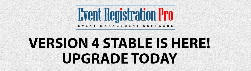 Event Registration Pro 4 Stable Is Released