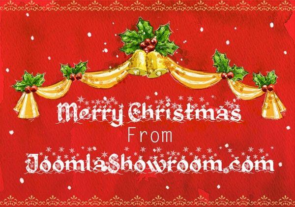 Merry Christmas From JoomlaShowroom.com