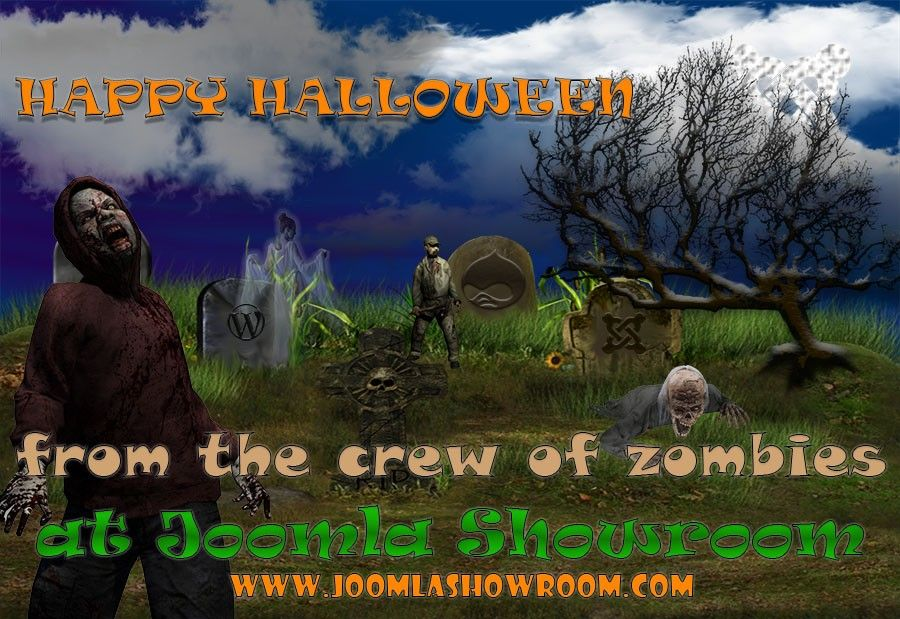 Happy Halloween from Joomla Showroom with a 20% discount